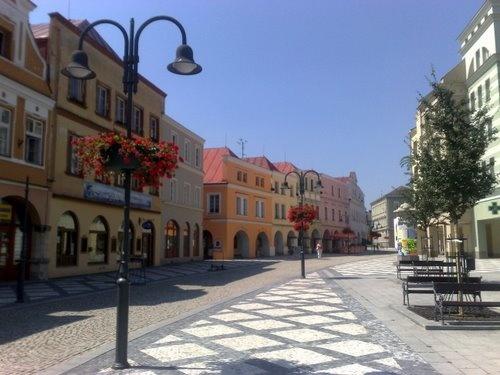 Krnov - pěší ulice do centra