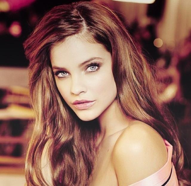 Steel blue eyes, a cool skin tone and dark hair make a killer ...