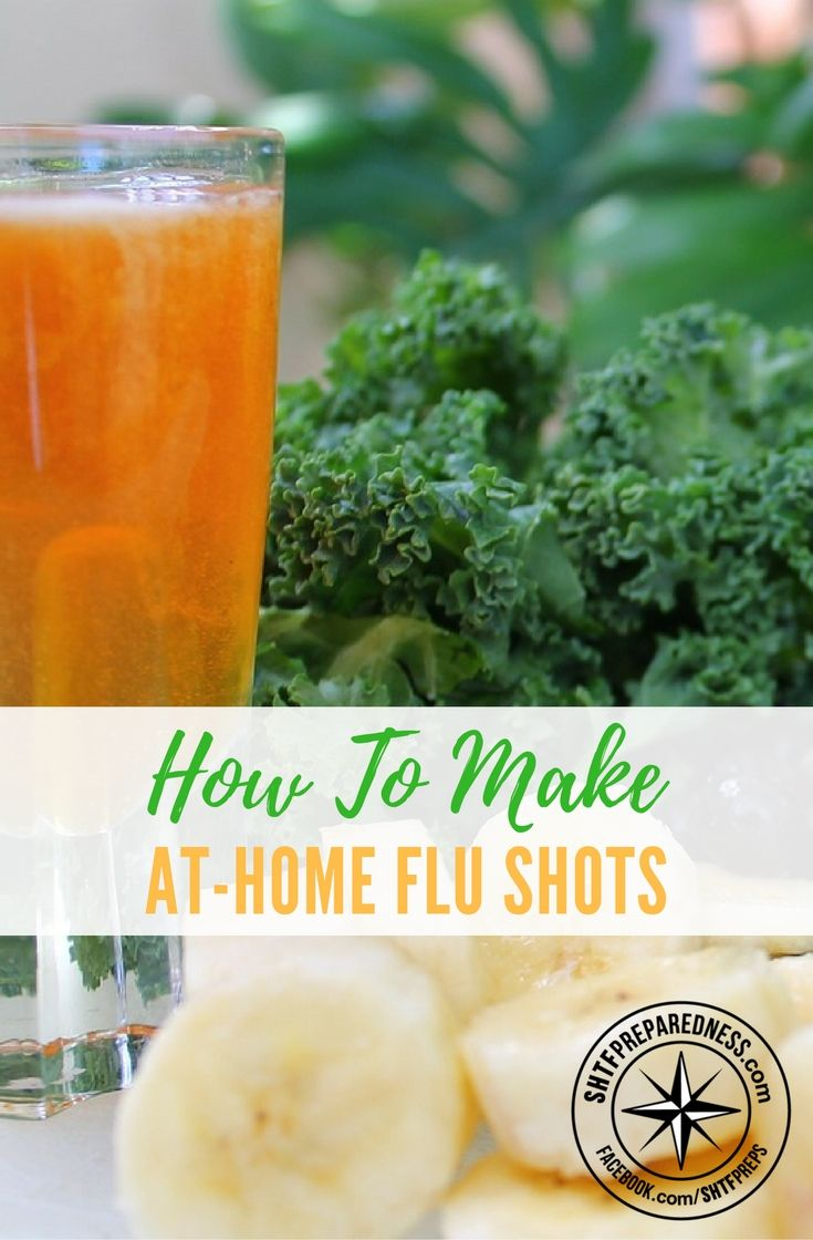 How To Make At-Home Flu Shots — Not just for SHTF times but this is a great way to save money and get more healthy by only putting in natural products to fight the flu, give it a try next time you may be surprised how well these could work for you.