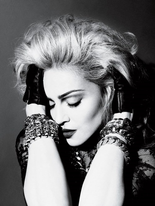 I dont care what anyone thinks I love Madonna and I hope I'm as awesome as she is when I'm 50(: