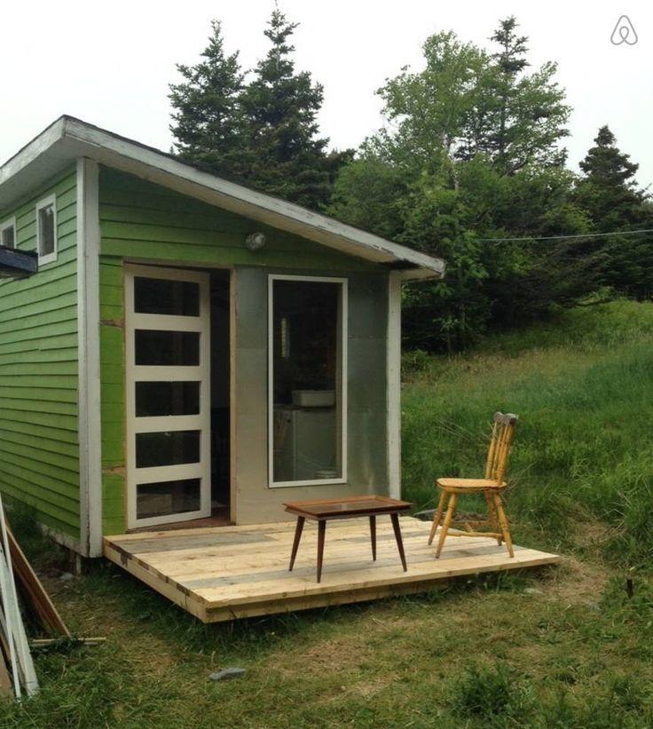 Porch with window. newfoundland