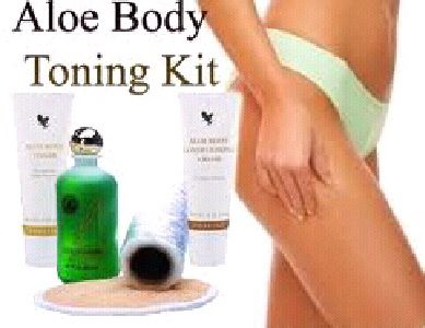 Aloe body Toning kit - tone your body ready for summer!http://www.be-forever.de/aloevera-wellness-shop/