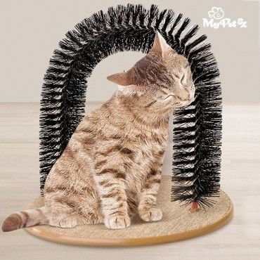 If you want your cat to purr with pure delight, all you have to do is leave the My Pet EZ arch cat massager in their favourite spot. With this great massager, not only will excess hair come off, but your cat will get a pleasant massage...