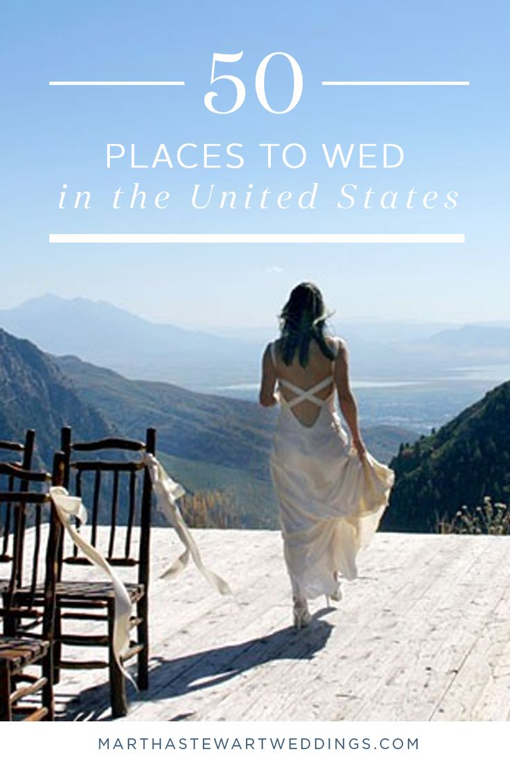 50 Places to Wed in the United