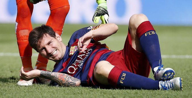 Barcelona Loses Lionel Messi 2 Months With Injury - The New York Times