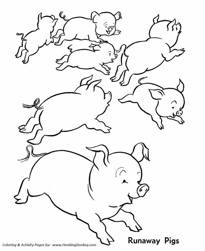The 25+ best Farm animal coloring pages ideas on Pinterest | Farm ...