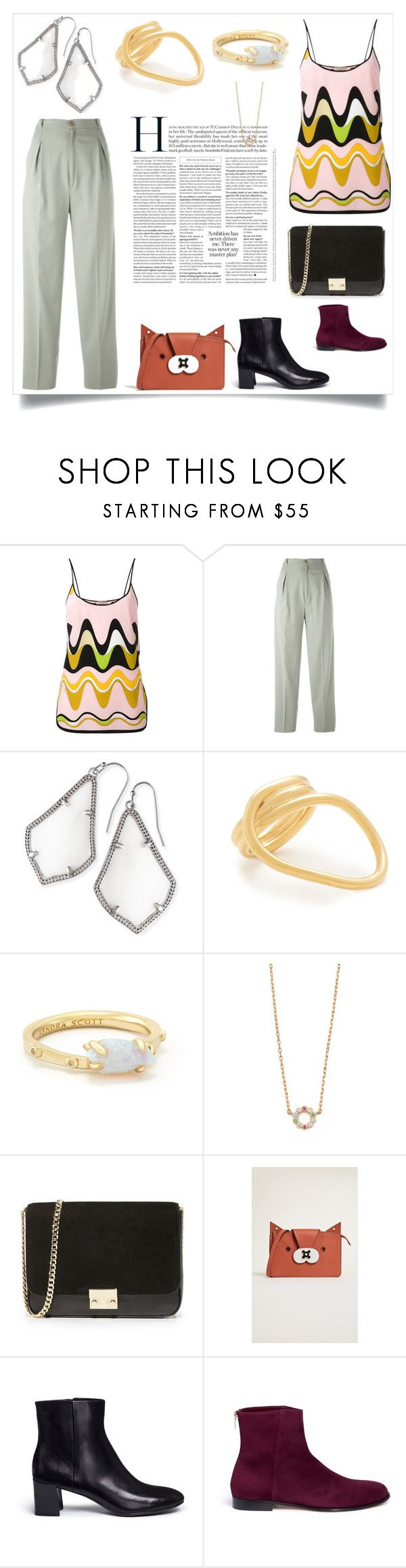 """Passion for Fashion"" by mkrish ❤ liked on Polyvore featuring Emilio Pucci, Jean-Louis Scherrer, Kendra Scott, Amber Sceats, Marc Jacobs, Loeffler Randall, Anya Hindmarch, Pedder Red and Jimmy Choo"