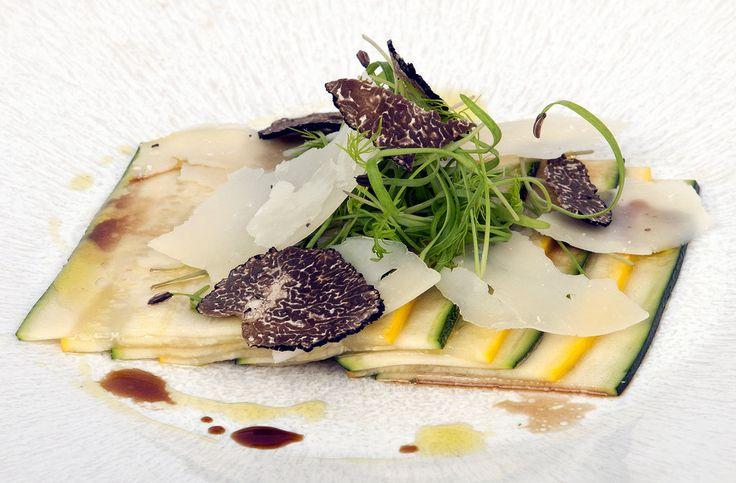 Zucchini Carpaccio | Our Food | Pinterest | Zucchini