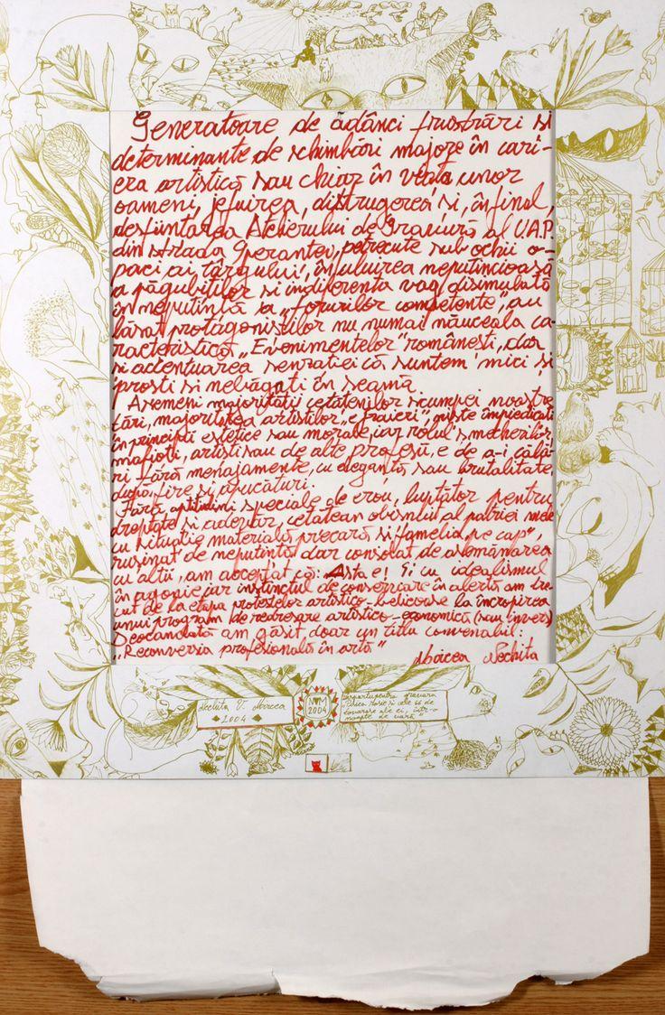 desen.afis.manifest.2004expozitie Caminul Artei