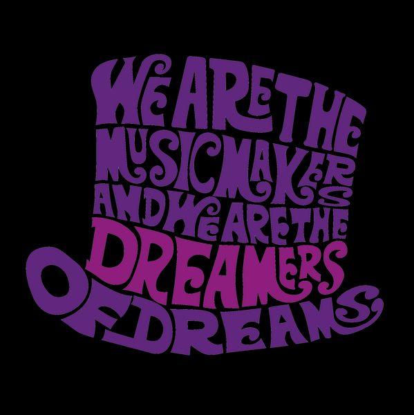 Willy Wonka Hat Dreams - Purple - NeatoShop