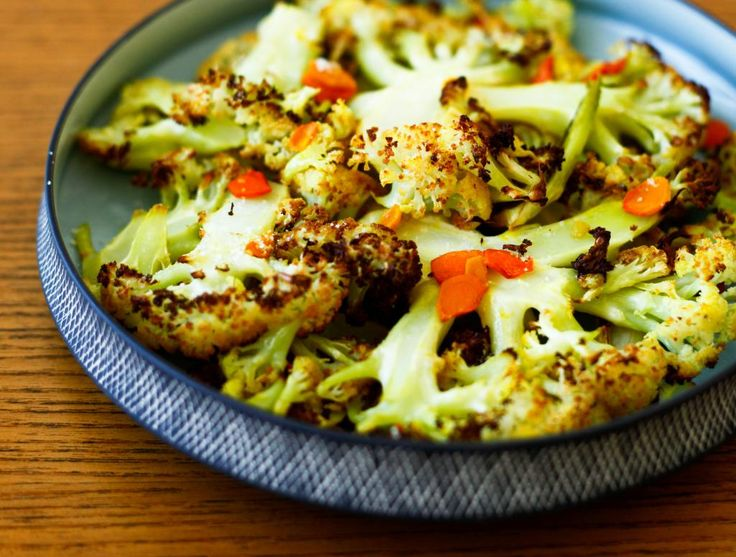 Roasted Cauliflower and Turmeric