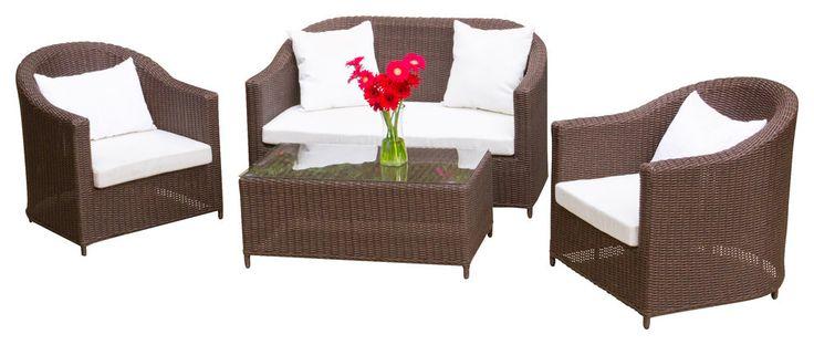 2017 Home Furniture Brown Rattan Furniture 4pcs Best Royal Furniture Cheap Sofa Set