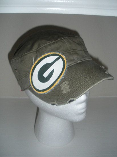 Green Bay Packers Cadet Hat by kymburleigh5 on Etsy, $30.00
