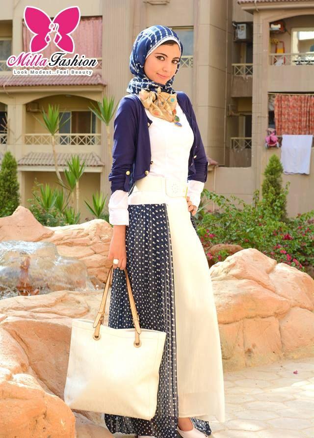 hijab fashion looks  Hijab looks by Milla fashion http://www.justtrendygirls.com/hijab-looks-by-milla-fashion/