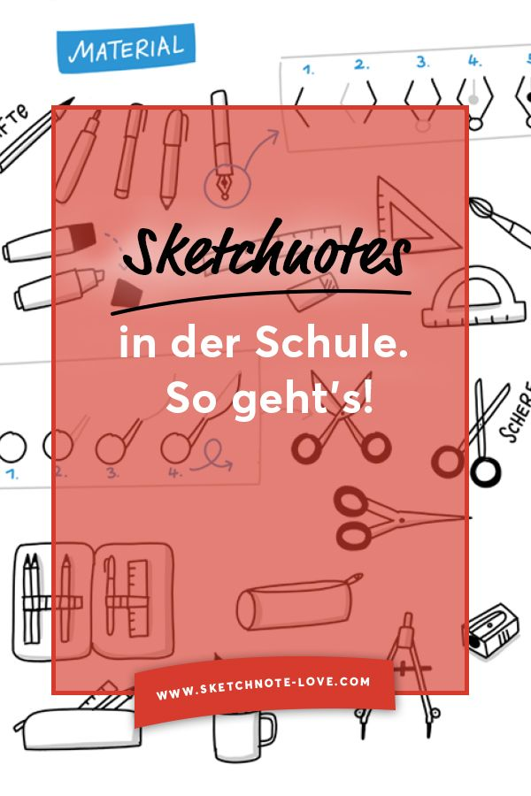 Sketchnotes at school
