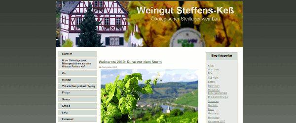 Bildergeschichten aus dem Weingut Steffens-Keß