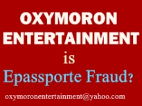 View Fraud at Oxymoron Entertainment