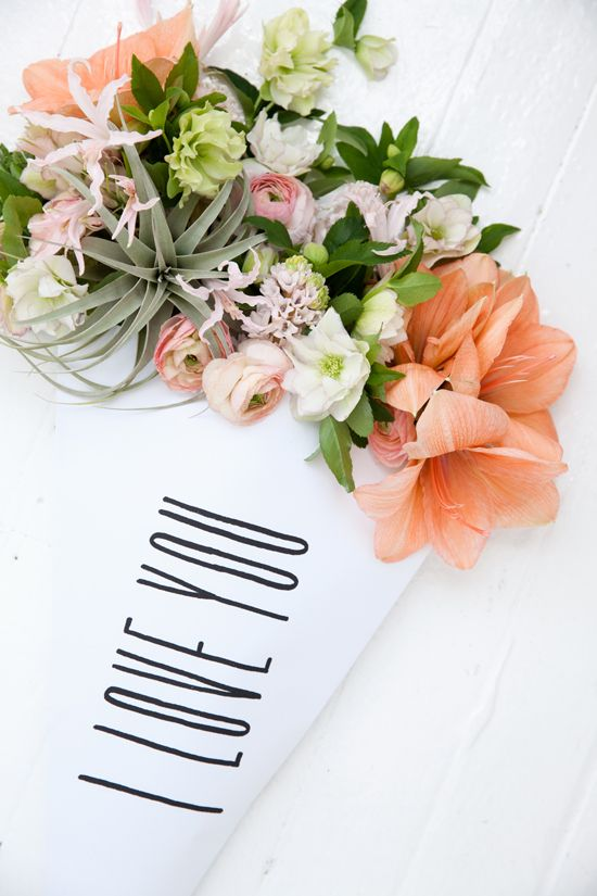 flower bouquets| designlovefest