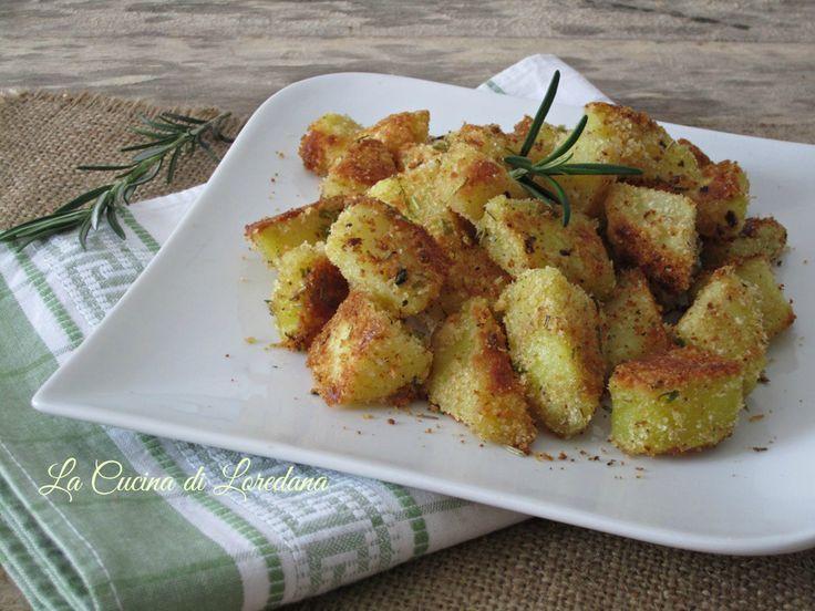 Patate al forno gratinate