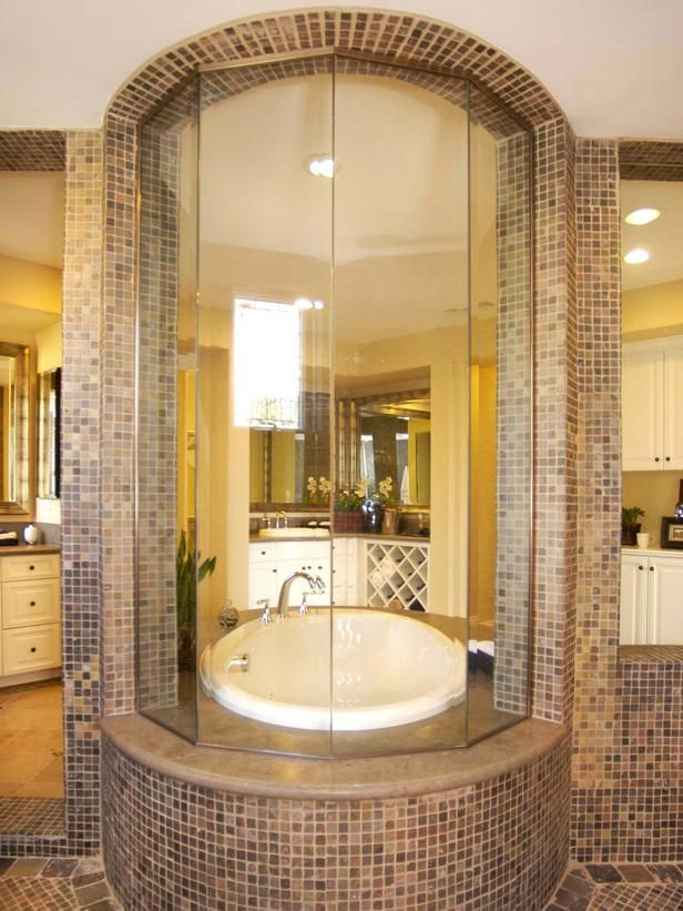 Soaking Tub Shower Combination. Great Soaker Tub Shower Combo With ...