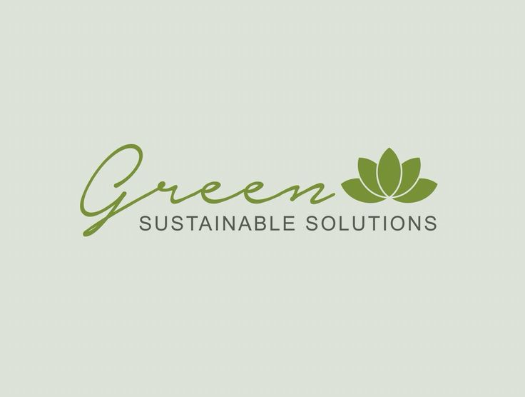 Green. Logo design. www.missrubydesigns.co.za