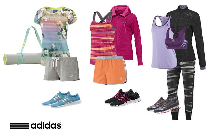Get in shape, girl! Don't be forced to choose between style and performance –get it all with these styles from adidas.ca