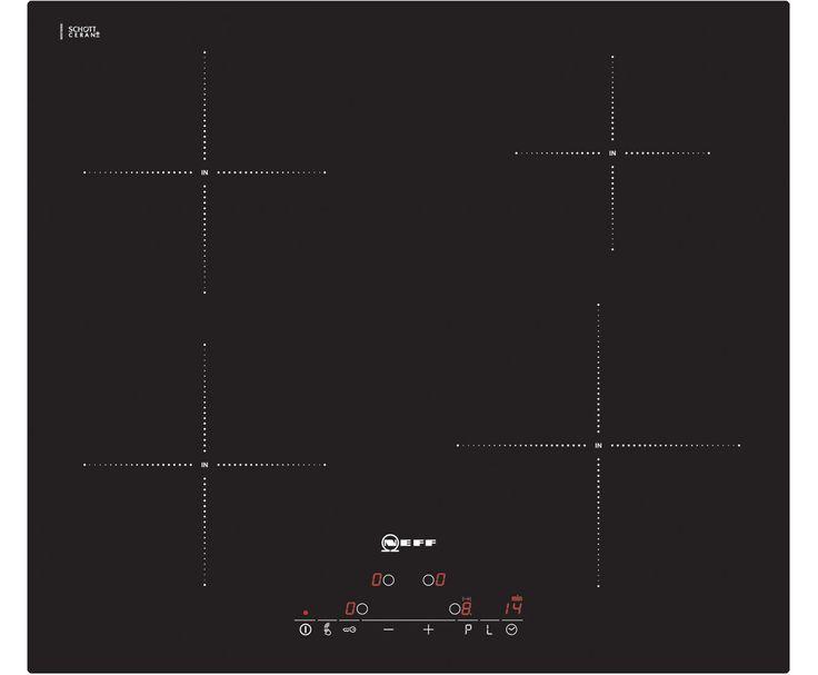 Neff Built-In Induction Hob | T41D40X2 | 4 Zones | ao.com