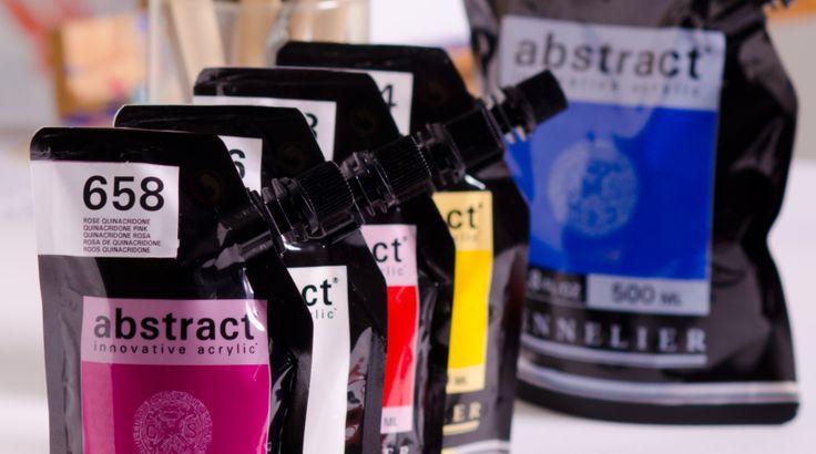 abstract est l'acrylique fine de SENNELIER. Son packaging innovant a de nombreux avantages : On peut utiliser toute la peinture qu'il contient, il est solide, transparent, et ne laisse pas rentrer l'air, ce qui garantit une meilleure conservation de la couleur #THISISABSTRACT