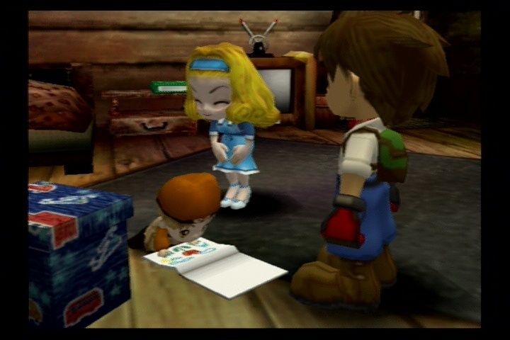 Harvest moon another wonderful life clothes
