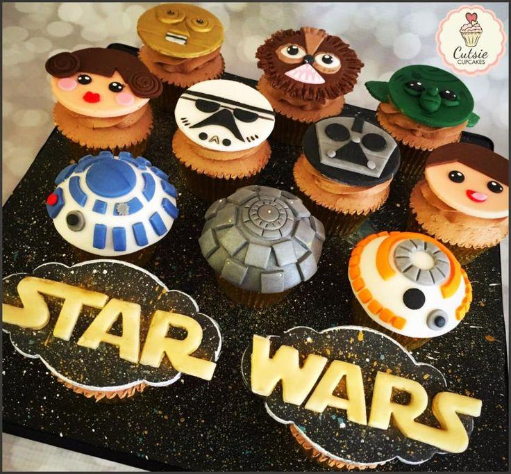 Star Wars Cupcake Board