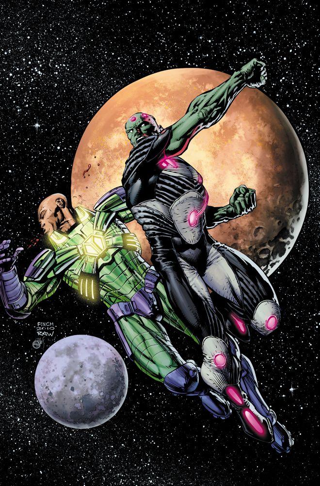 Lex Luthor vs Brainiac