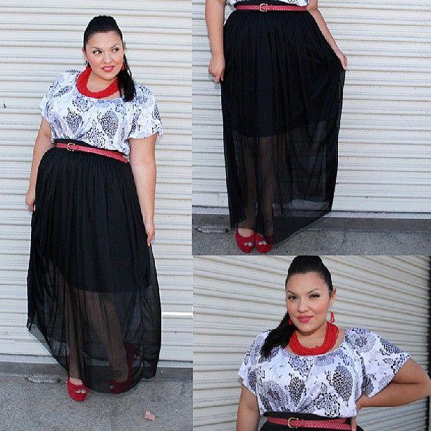 Black maxi dress outfit plus size
