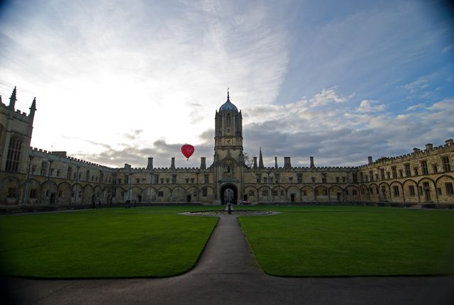 Christ Church Oxford, United Kingdom Oxford is a picturesque town full of history and impressive architecture at every turn. Just an hour's train ride from London, it's a perfect day trip destination