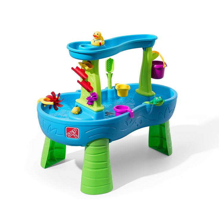Let your little one make it rain with the Rain Showers Splash Pond Water Table by Step2.  View and shop now.
