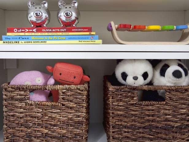 Weave In Some Storage - Small Space Decorating: Shared Kids' Room and Storage Ideas on HGTV