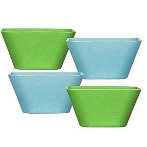 Eden Bamboo Set of 4 Bowls #kaleidoscope #garden