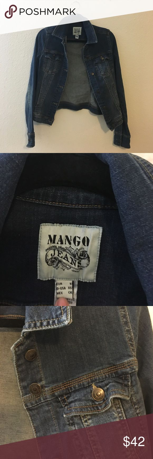 Mango Denim Jacket Warm and comfortable fitted Denim Jacket ∙ worn a few times ∙ great condition Mango Jackets & Coats Jean Jackets
