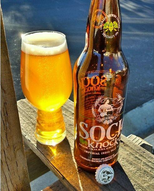 Cornado Brewing Sock Knocker IPA and the IPA glass from @dett311. #craftbeer #IPA