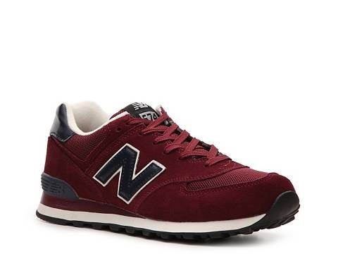 new balance shoes red and black. new balance men\u0027s 574 sneaker sneakers shoes - dsw red and black 0