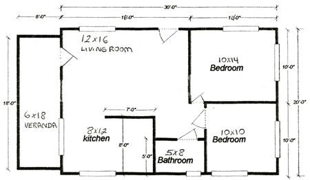 33 Awesome duplex house plans for 20x30 site images