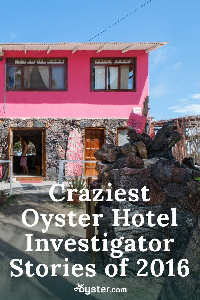 Being an Oyster hotel investigator is eventful, to say the least. The globetrotting gig is filled with memorable once-in-a-lifetime moments. But, just like any other professional position, this job is not without its stressful, head-scratching situations. They all, however, make for good tales to tell long after returning home. So we tapped the heroes behind the honest reviews and photos you see on www.oyster.com/ to share some of their craziest anecdotes.
