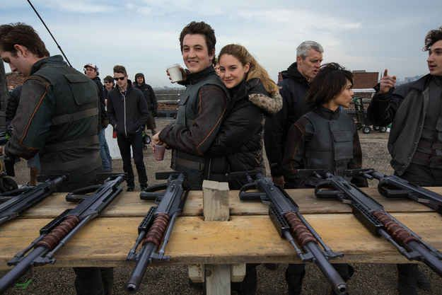 "Miles Teller was originally interested in the part of Four, but was convinced to play the villain. | 10 Things We Learned About The Making Of ""Divergent"""