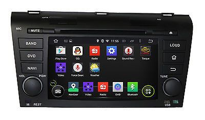 Android 5.1.1 Quad Core Car Dvd Gps Navi Radio Dab Bt TV For Mazda 3 2004-2009