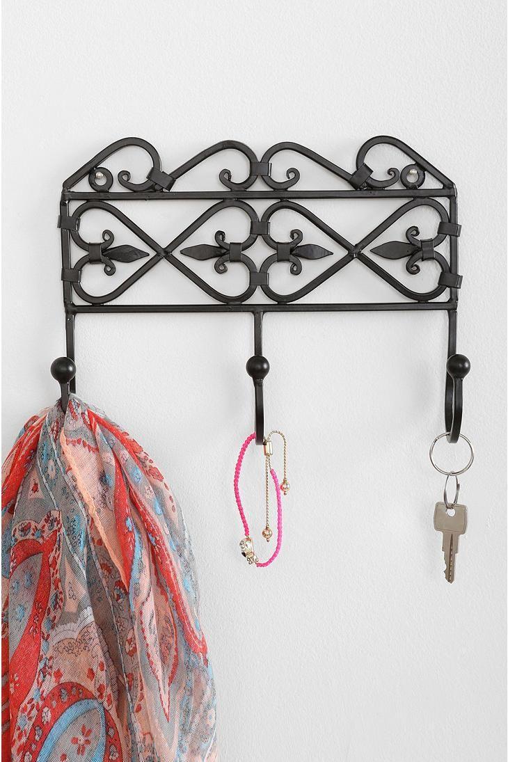 iron gate wall hook