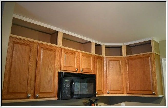 21 Best Images About Extending Upper Kitchen Cabinets On