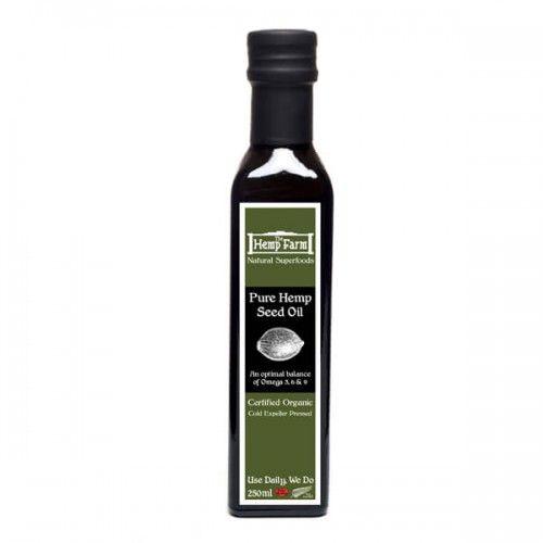 250ml Pure Hemp Seed Oil