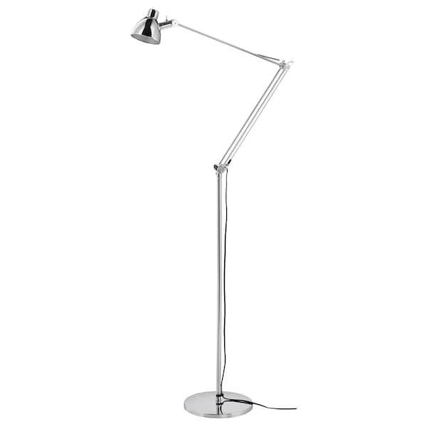 Antifoni Lattia Lukuvalaisin Nikkeloity Ikea Lampe Led Leuchtmittel Ikea