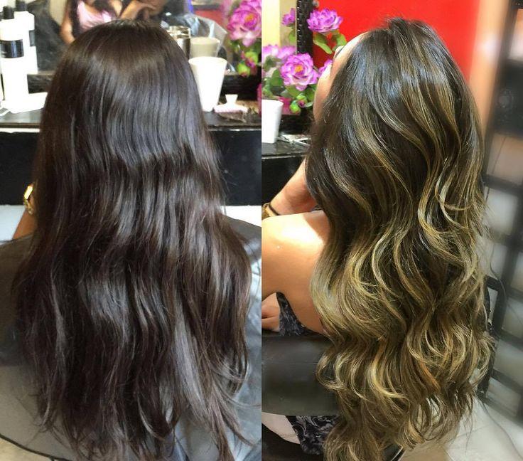 cool Омбре на темные волосы (50 фото) — Окрашивание средних и длинных локонов Читай больше http://avrorra.com/okrashivanie-ombre-na-temnye-volosy-foto/