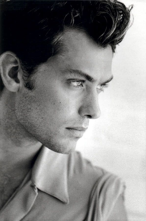 "Images of young Jude Law in an issue of ""Vanity Fair"" ended up helping me write about John."