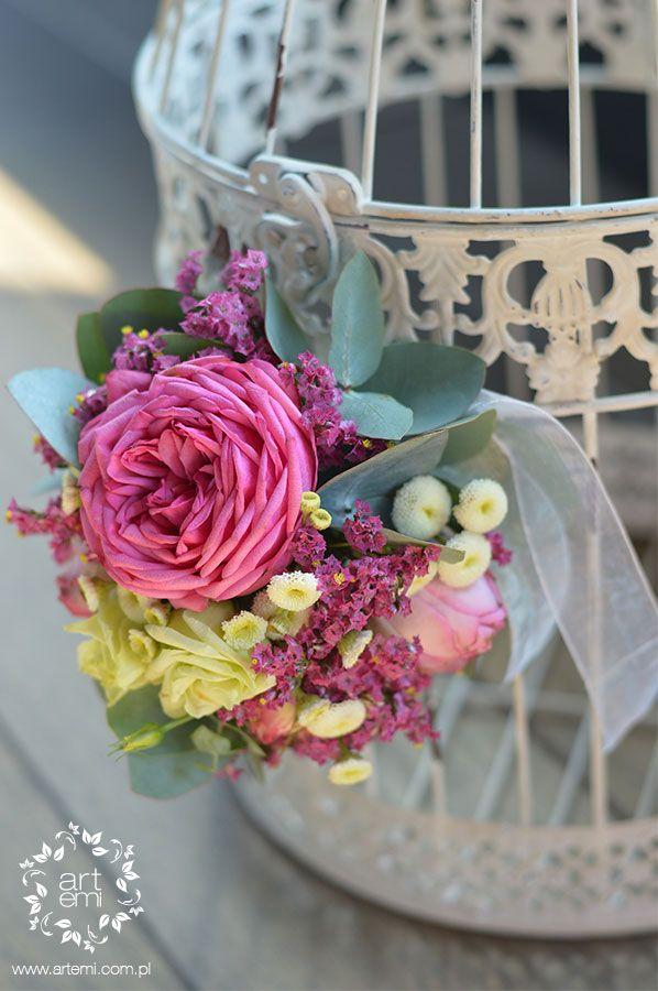 #artemi #dekoracje #ślub #slub #wedding #kwiaty #flowers #decorations #roses #klatka #telegramy #flowerdecor #decor #weddingday https://www.facebook.com/ArtemiPracowniaFlorystyczna www.artemi.com.pl